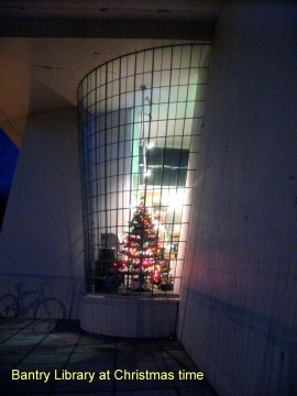 Bantry Library at Christmas time