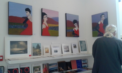 Karen Billing's paintings at the Uillinn, Skibbereen